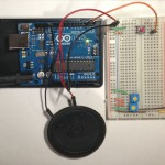 ArduinoでPC98起動音 ブレッドボード